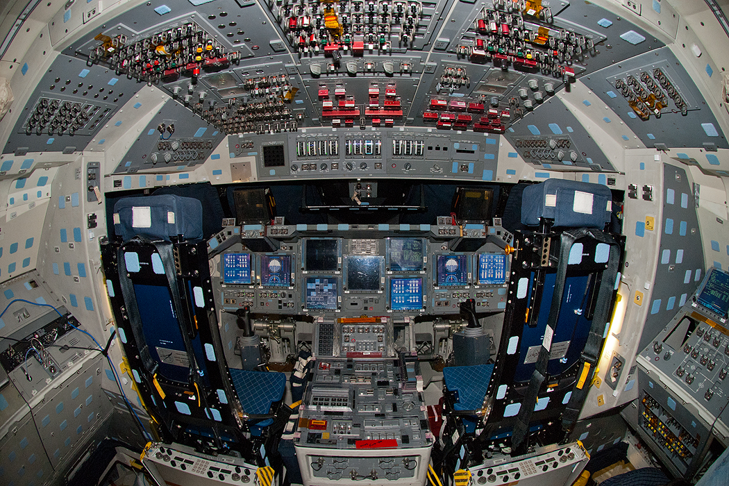 space shuttle flight deck - photo #16