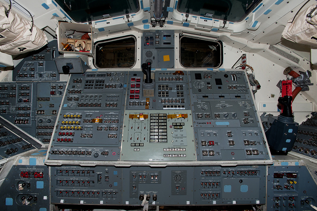 space shuttle discovery cockpit - photo #21