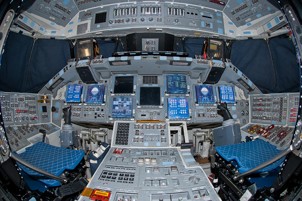 space shuttle flight deck -#main