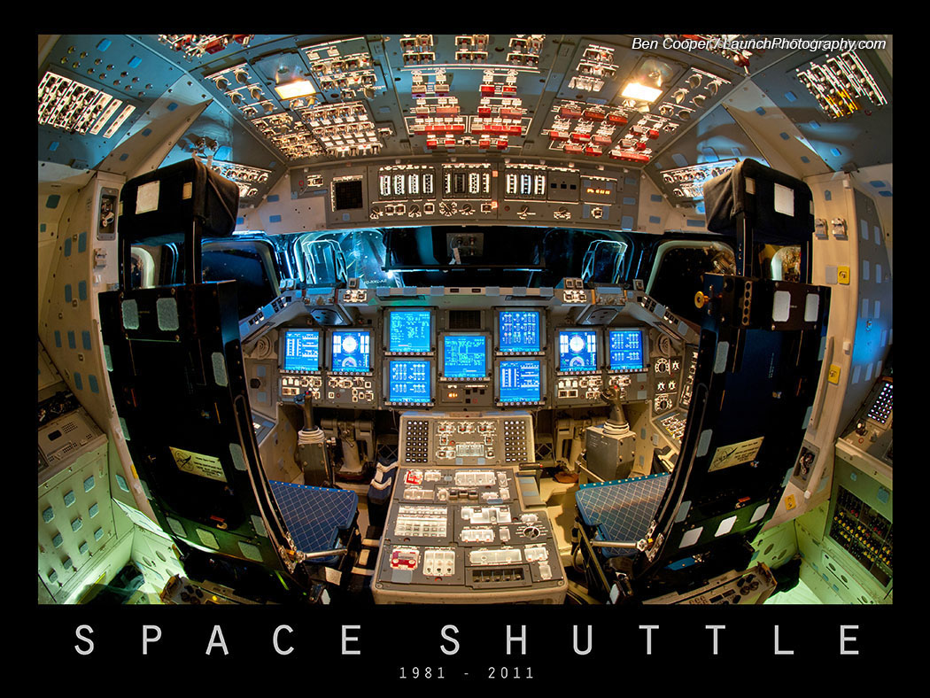 space shuttle discovery cockpit - photo #27