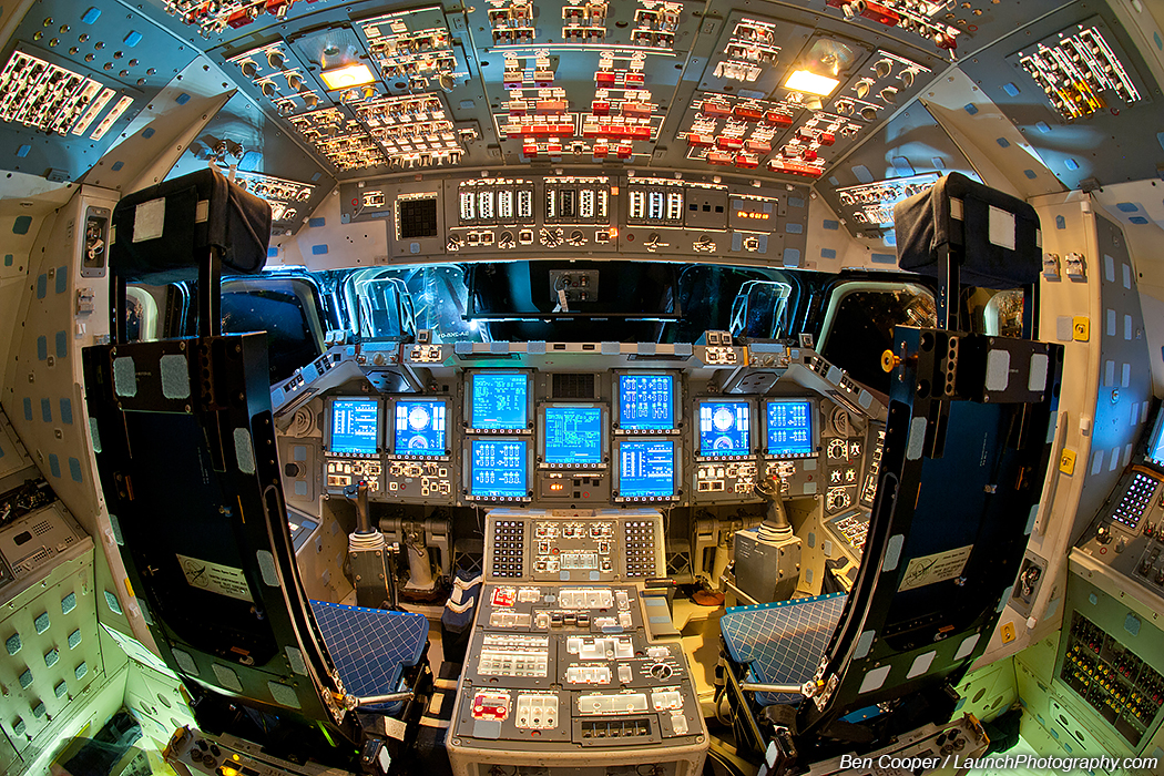 space shuttle landing from inside - photo #36