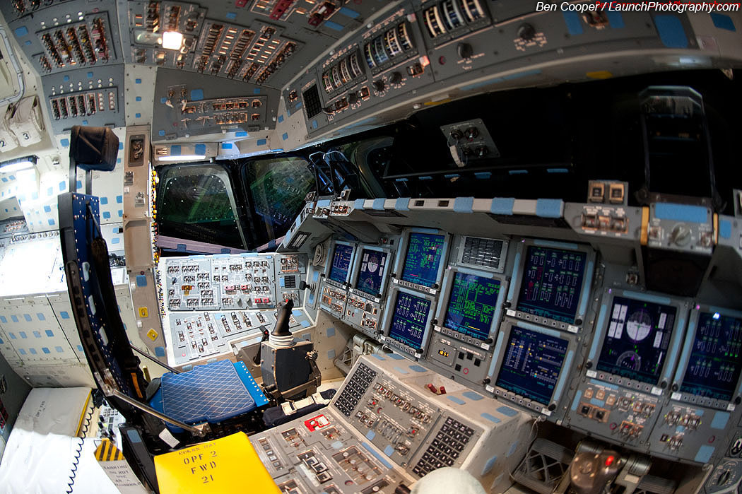 space shuttle flight deck - photo #20