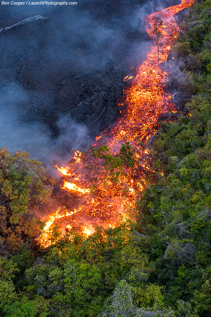 Lava aerial photos, la...