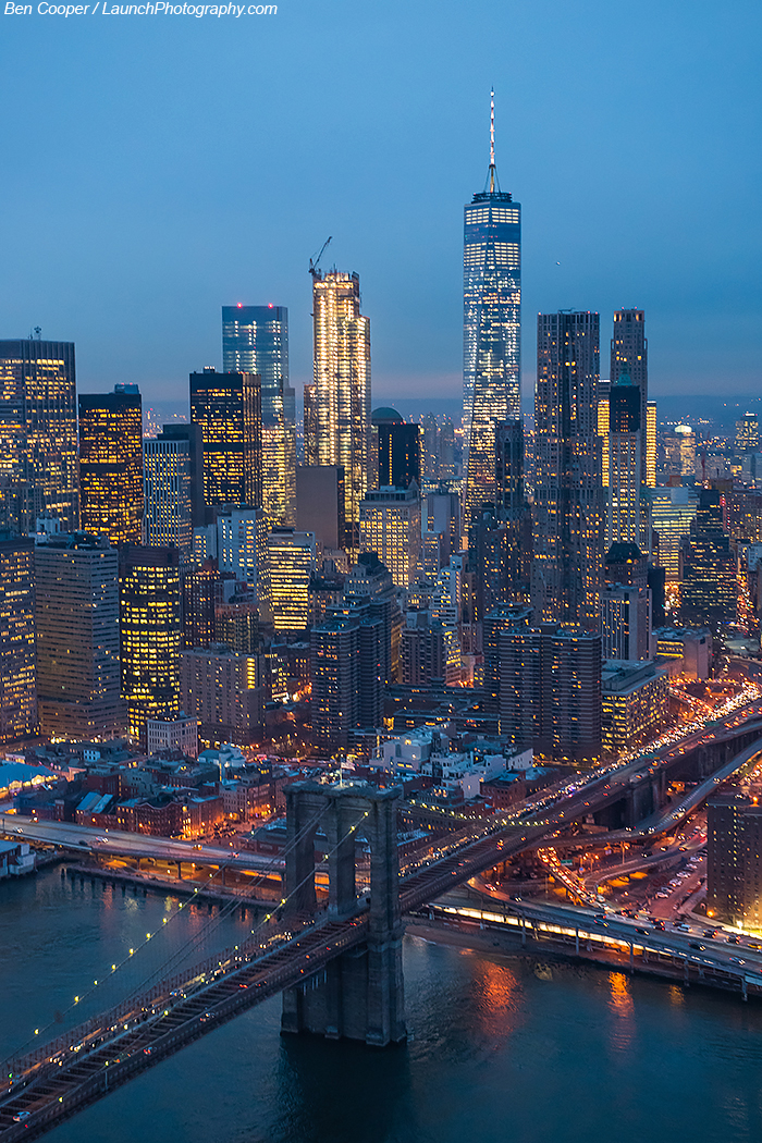 New York City: New York City Aerial Photography, Manhattan From Above