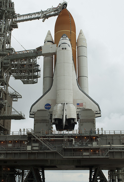 space shuttle landing sequence - photo #13